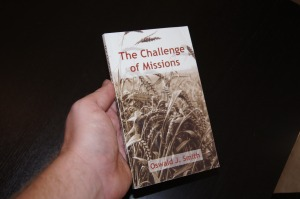 The book Aaron gave me.  It's only 127 pages, but it helped change my life.