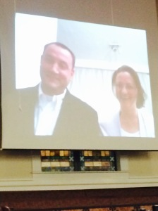 Wes and Rachel Gazaway's live interview during missions conference.