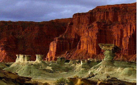 A landscape picture from Valle de La Luna (Valley of the Moon) located in San Juan Province