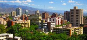 Downtown view of Mendoza